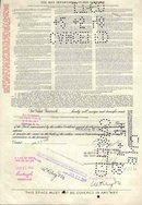 old vintage 1948 MAY DEPARTMENT STORE stock certificate