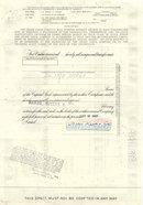 GRAND UNION STOCK CERTIFICATE 1967