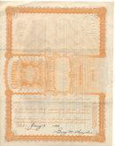old vintage 1933 UTAH PENNSYLVANIA OIL Stock Certificate