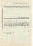 old vintage 1954 PENNSYLVANIA RAILROAD stock certificate