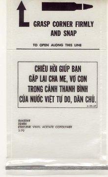 old vintage 1960s VIETNAM AMMUNITION BAG