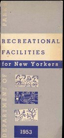 old vintage 1953 NEW YORK RECREATIONAL booklet