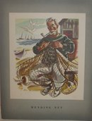 Canada Steamship Fisherman Mending Net Menu