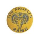 old vintage 1950s Los Angeles Rams Football