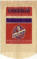 Joe Lowe Cheerio Ice Cream Bag