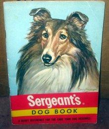 old vintage 1948 SERGEANTS Dog Care Products Booklet