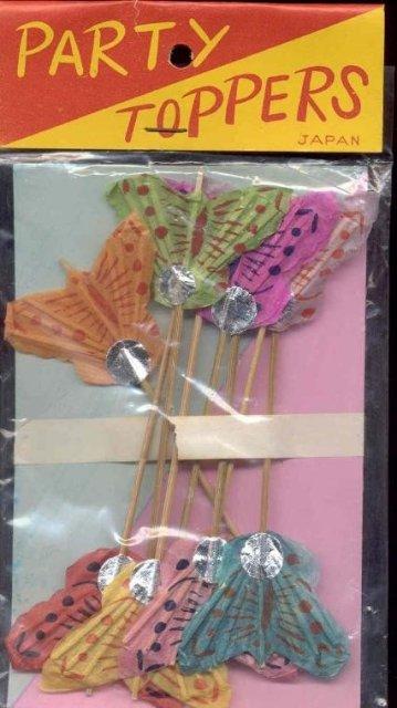 Butterfly Toothpicks Japan