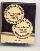old vintage STODGHILL & CO Matchbook