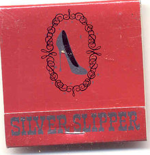 Silver Slipper Casino Matchbooks
