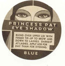 old vintage PRINCESS PAT ART DECO cosmetic label