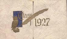 old vintage 1927 HIGH SCHOOL Commencement Invitation * KREIDER