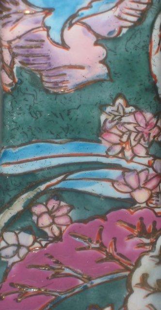 2 old vintage Ornate Floral Candlestick Holders