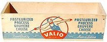 Valio Wood Cheese Box