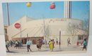 old vintage 1968 COCA COLA SODA postcard ~ Worlds Fair