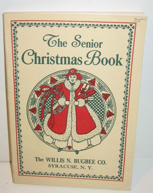 Senior Christmas booklet 1932
