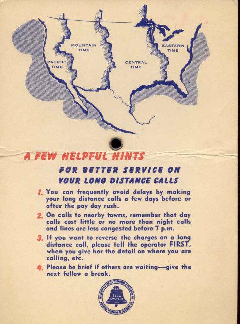 old vintage World Time Finder Spin Card