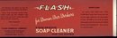 old vintage 1940s Flash Hand Soap Label for Women War Workers