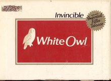 White Owl Cigar Box Lid