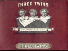 Three Twins Cigar Label