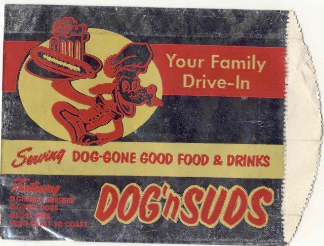 Dog n Suds Root Beer Soda Bag