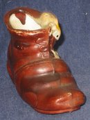 Mouse Button Shoe Statue