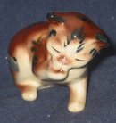 old vintage TUTSY TABBY CAT STATUE