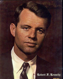 Robert Kennedy Postcard - Jumbo