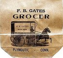 Antique Grocery Bag 1900s