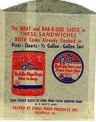 BBQ Sauce Bags