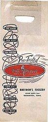 old vintage 1940s POLL PARROT SHOE BAG