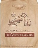 RCA Victor Records Bag