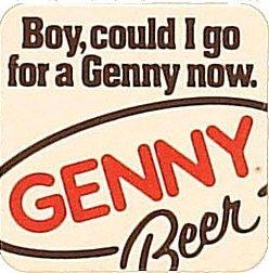 Genesee Beer Coaster