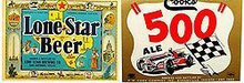 Lone Star Beer Indy 500 Labels