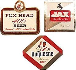Mini Beer Labels 1950s