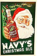 Navy's Christmas Ale Stone Litho Pamphlet