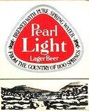 Pearl Light Lager Beer Matchbook