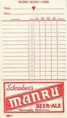 Schreibner's Beer Card Player Toy