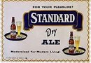 Standard Ale Beer Placemats 1946