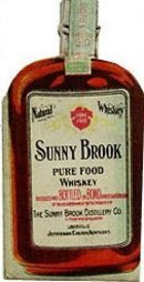Sunny Brook Whiskey Bottle Sign
