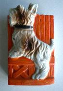Scotty Dog Wall Pocket