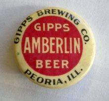 Gipps Brewery Pinback