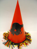 old vintage 1950's Halloween PIRATE Hat
