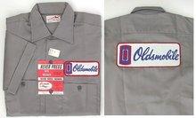 old vintage OLDSMOBILE EMPLOYEE work shirt