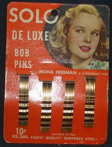 Bobby Pin Hair Display