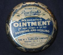 Rawleigh's Medicated RX Tin