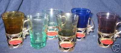 Las Vegas Souvenir Glasses in Box