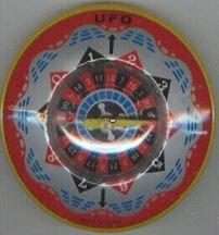 VINTAGE UFO TOY * OLD VINTAGE JAPAN UFO
