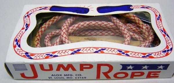 Alox Jump Rope in Original Box 1960s
