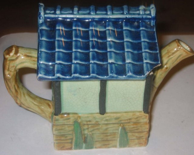 Ceramic Windmill Teapot Sugar Set