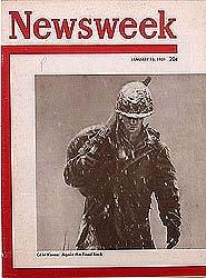 vintage NEWSWEEK MAGAZINES * Korean War Era 1950S